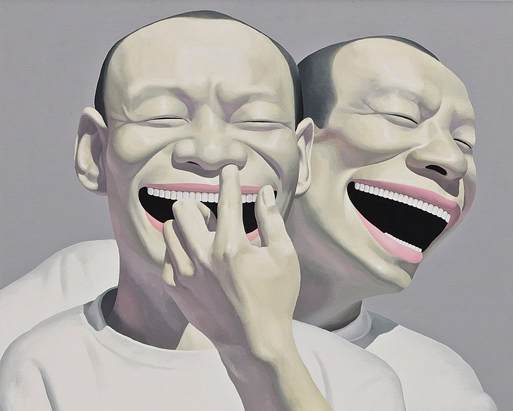 'Untitled' by the artist Yue Minjun, 2001